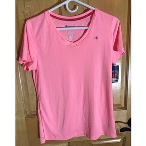 Champion dryfit short sleeved shirt
